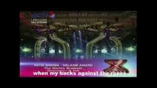 FATIN SHIDQIA & MELANIE AMARO - THE WORLD'S GREATEST (with lyrics)