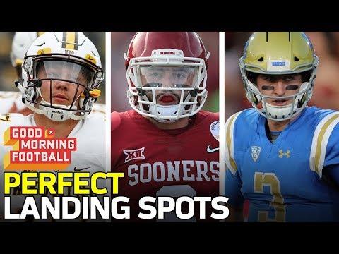 Top QB Prospects Perfect Team Fits | NFL Network