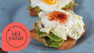 Kahvaltılık Ekmek üstü Avokado & Yumurta - Yemek Tarifleri -  İdil Yazar