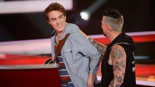 Chris Sheehy Sings One More Night: The Voice Australia Season 2