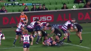 2017 Super Rugby Round 14: Rebels v Crusaders
