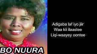 Hibo Nuura Iyo Heesta Maxaa luray naftaadii Full with lyrics