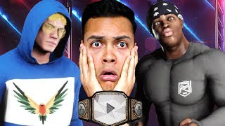 what if KSI had a fight with Logan Paul in the WWE ?