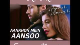 Aankhon Mein Aansoo (Ek Haseena thi ek deewana tha LoveMix) DJ SRJ Mumbai