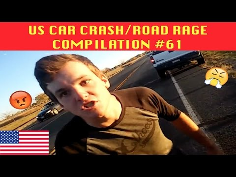 watch 🇺🇸 [US ONLY] US CAR CRASH/ROAD RAGE COMPILATION #61