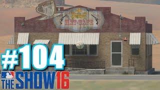 WILD WEST HAT CAFE! | MLB The Show 16 | Diamond Dynasty #104
