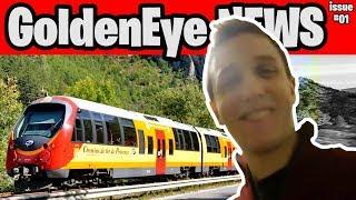 Marc Rützou's Train WR Tied! Marc Sets New 100% WR! [GoldenEye News #01]