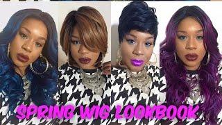 Spring Wig Lookbook (5 Wigs)| Hairsisters com