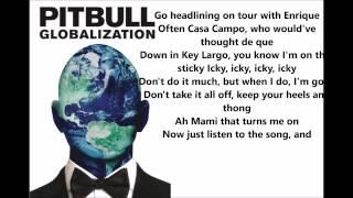 Pitbull - Fun ft. Chris Brown (lyrics)