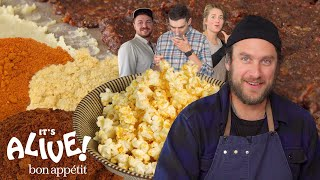 Brad Makes Fermented Popcorn Seasoning   It's Alive   Bon Appétit