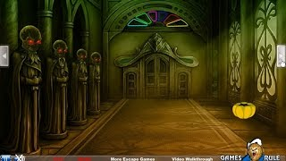 Halloween Paranormal Palace Escape walkthrough Games2Rule.