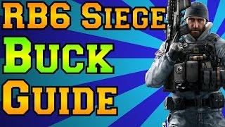 Rainbow Six Siege - Buck Guide - Black Ice DLC