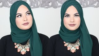 HIJAB STYLE FOR WORK AND SCHOOL 2017