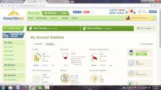 How to free earn money online from easyhits4u in Bangla 2017