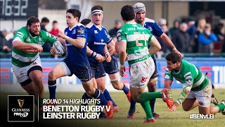 Round 14 Highlights: Benetton Rugby v Leinster Rugby | 2016/17 season