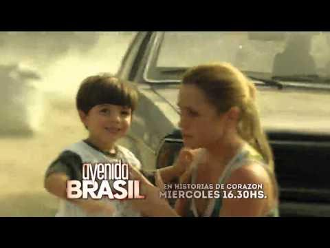 Promo Avenida Brasil Capítulo 28 22 01 2014 Telefe HD Argentina