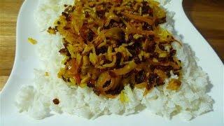 Dieses Video wurde unterstützt durch Reishunger I Persischer Reis- Safranli pilav