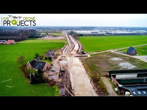 Aansluiting N18 Kolenbranderweg - Noordsingel N18 Drone Projects