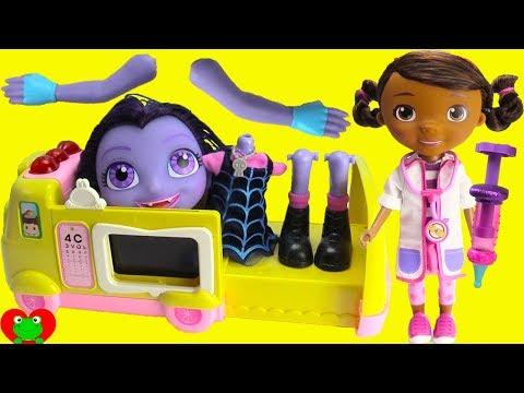 Xxx Mp4 Vampirina Nightmare Doc McStuffins Doctor Emergency Ambulance 3gp Sex