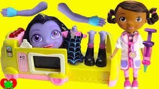 Vampirina Nightmare Doc McStuffins Doctor Emergency Ambulance