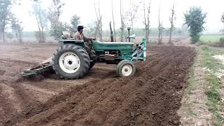 FIAT 640 75 hp With Cultivator Working in fields must watch 2017 new