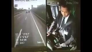 Dangerous car accident video