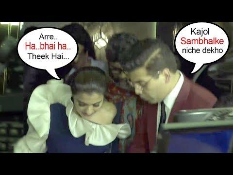 Karan Johar's Sweet Gesture For Kajol Taking CARE Of Her In Public After End Of FIGHT