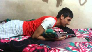 Funny song Saira gelam matir Prithibi jibon khelay