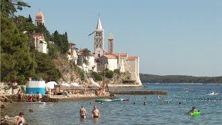 Die Insel Rab, Kroatien
