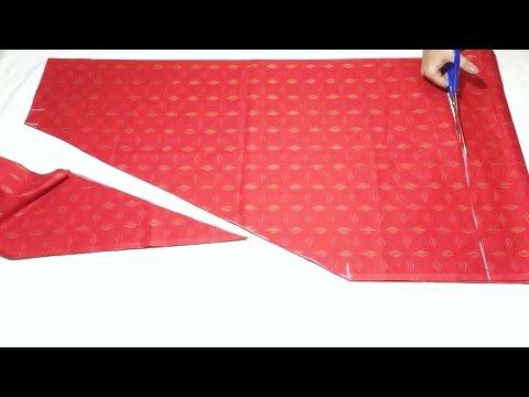 Narrow salwar cutting simple and easy method