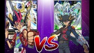 YUSEI vs YUMA  -XYZ vs SYNCHRO- (Yugioh Character Decks)