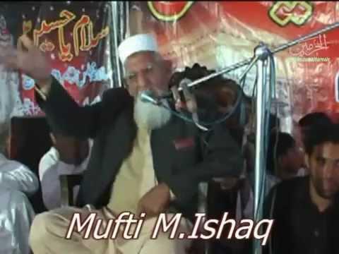 Molana Ishaq new speach at Shia Musjid