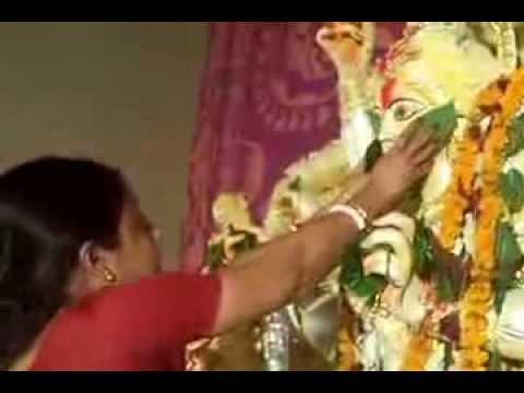 Bijoya dashami protima baran  Ranipark  2012