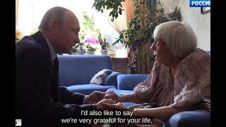 SURPRISE VISIT: Putin Congratulates 90th Birthday to Soviet Dissident & Human Rights Activist