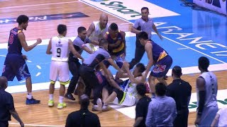 Late game scuffle | PBA Commissioner's Cup 2018