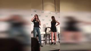 Clexacon -  Sarah Shahi and Amy Acker (Improv Scene)