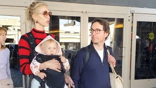 Russian Model Anna Kartashova Looking Beautiful As She Arrives At LAX With Her Family
