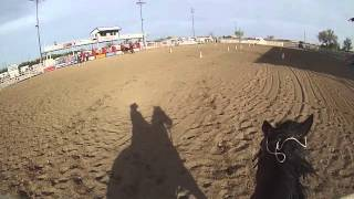 Colorado Mounted Thunder Mounted Shooting Event Lamar CO Diane Gortzig 4th Stage 23 Apr 2016 clean