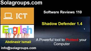 Software Reviews 110 Shadow Defender 1.4