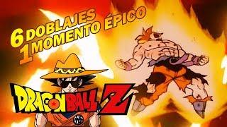 6 Doblajes 1 Momento Épico - Dragon Ball Z - Gokú grita Maldición - Si Dross fuera Gokú