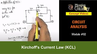 2. 12th Class Physics Lecture | Circuit Analysis | Kirchoff's Current Law (KCL) | by Ashish Arora