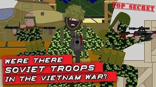 Were there Soviet troops in the Vietnam War?