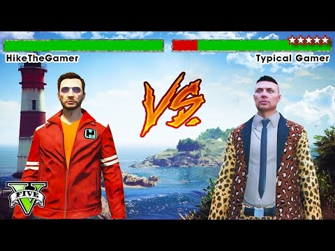 GTA 5 Online VS CHALLENGE Hike The Gamer VS Typical Gamer GTA GTA 5 Funny Moments GTA 5 PS4