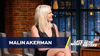 Malin Akerman Posed Nude with Jamie Dornan