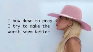 Lady Gaga - Million Reasons (Lyrics)