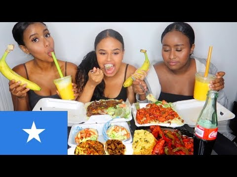 SOMALI FOOD MUKBANG | FENTY vs. KYLIE & INSECURE REVIEW