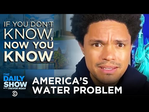 America's Failing Water Infrastructure If You Don't Know Now You Know The Daily Show