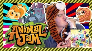🔴ANIMAL JAM LIVE STREAM 🔴- Collab with Hiptsum5 AJ - Checking Out Dens, Art, Jags and More!