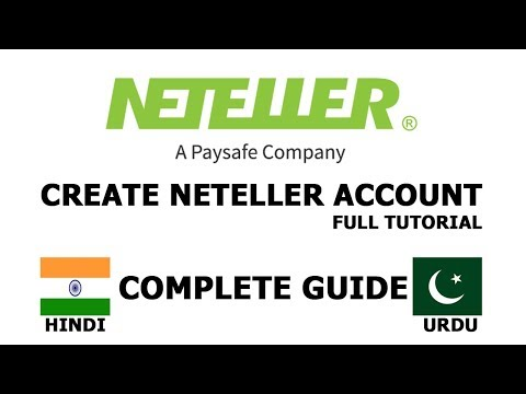 Xxx Mp4 Create Neteller Account In Hindi Urdu 2017 2018 Full Tutorial 3gp Sex