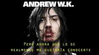 She is beautiful - Andrew W K - Sub Español